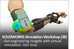 SOLIDWORKS Simulation Workshop (JB)