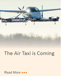The Air Taxi is Coming