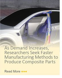 As demand increases, researchers seek faster manufacturing methods to produce composite parts