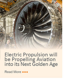 Electric Propulsion will be Propelling Aviation into its Next Golden Age