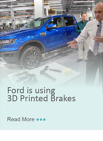 Ford is using 3D Printed Brakes