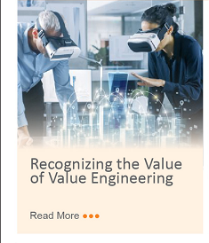 Recognizing the Value of Value Engineering